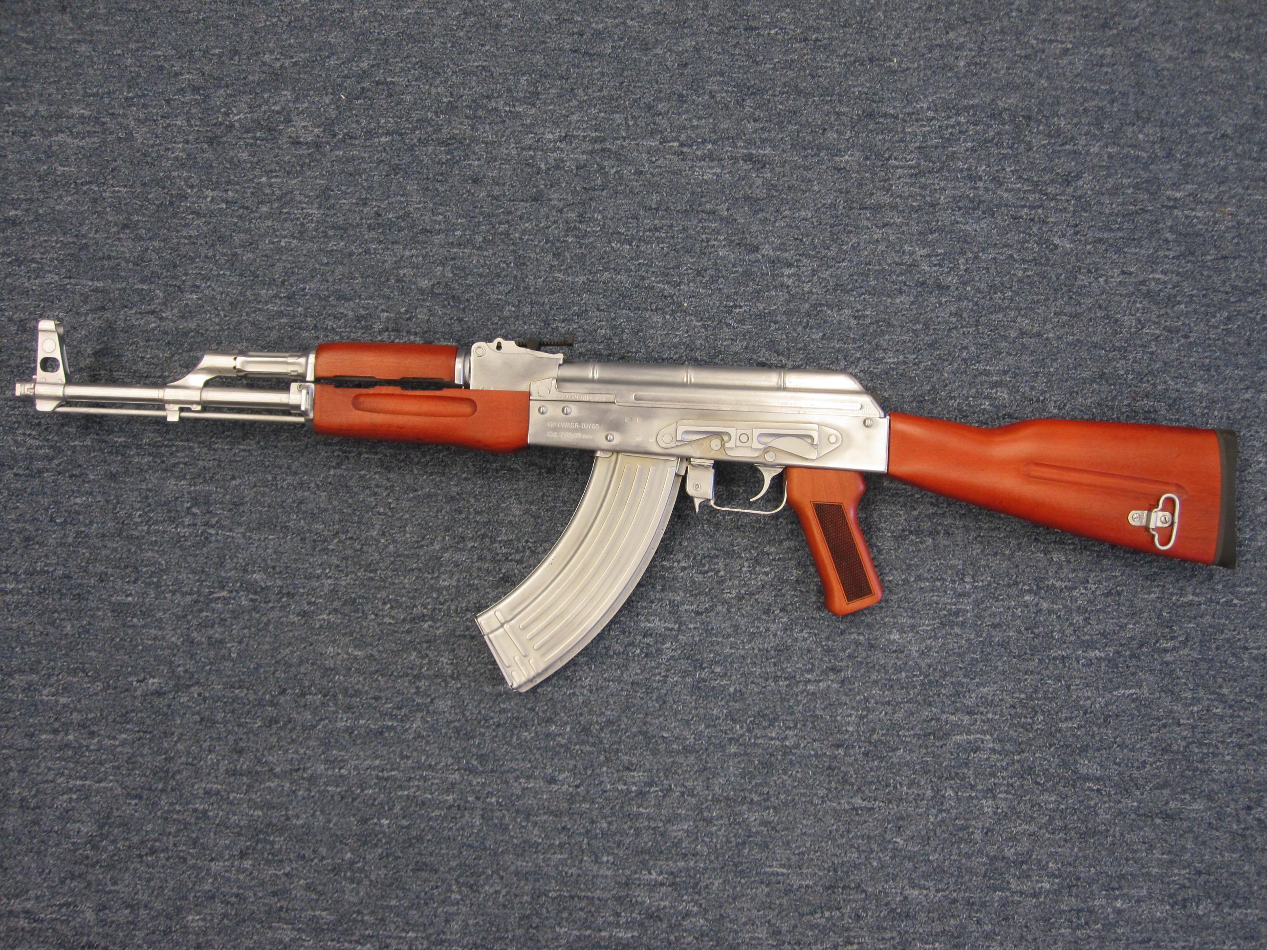 Brushed Nickel AK47
