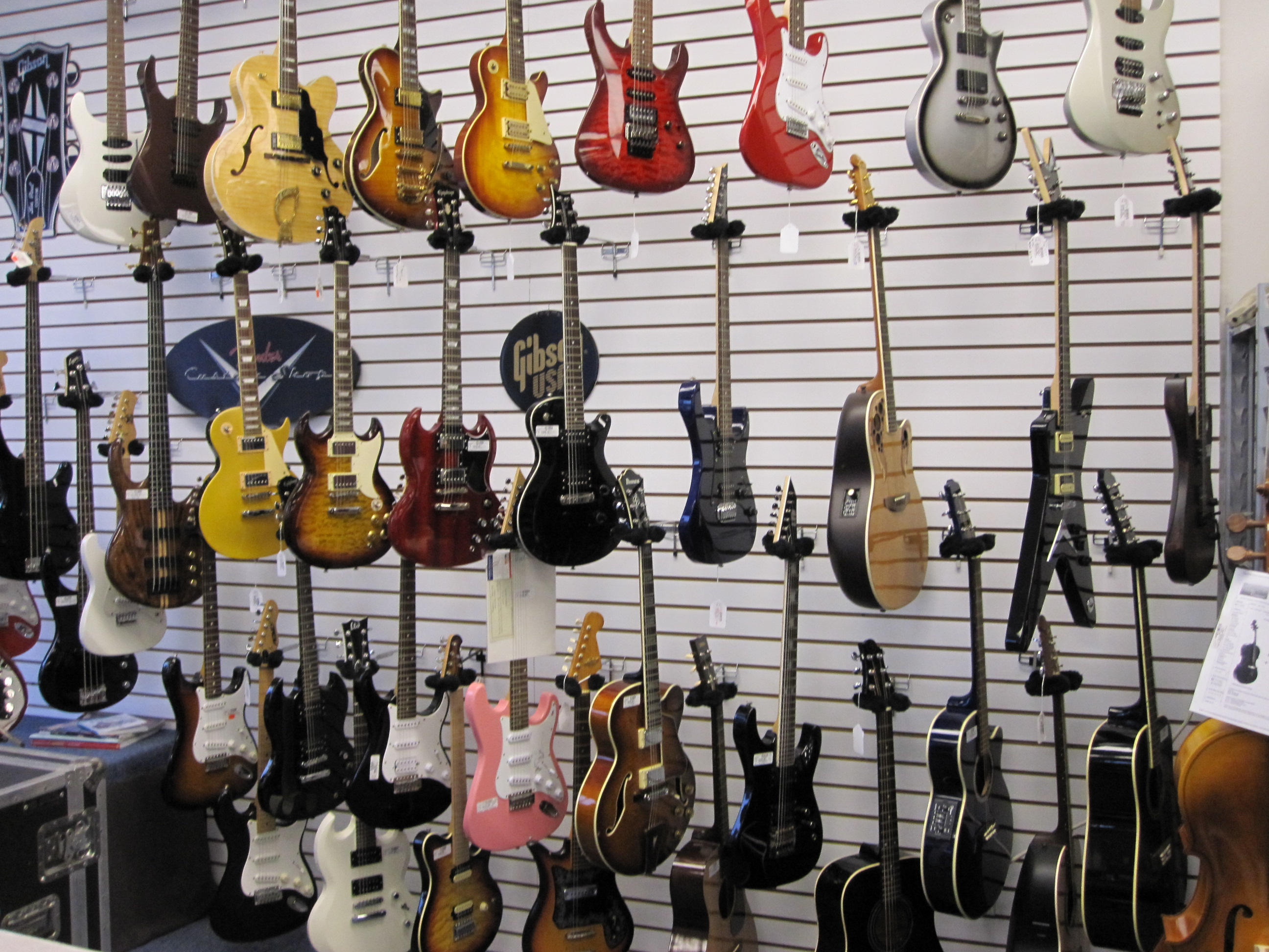 Our Guitar Wall